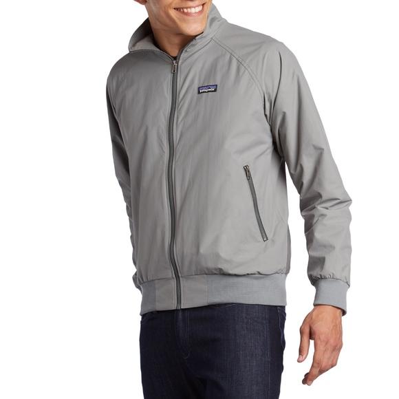 35cdb286ac Patagonia Men s Gray Zip Up Baggies Jacket XL. M 5c40656ca31c33af3c7d5ba8